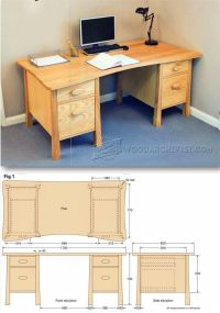 25+ Best Ideas about Desk Plans on Pinterest | Woodworking ...