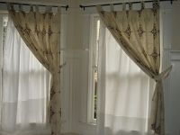 curtain and sheers on same rod - Home Decor