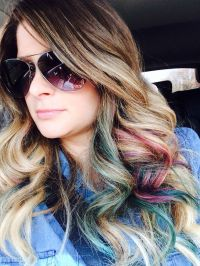 Peek A Boo Color Hair Pinterest Of Hair Color Ideas Peek A ...
