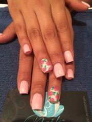nails art acrylic