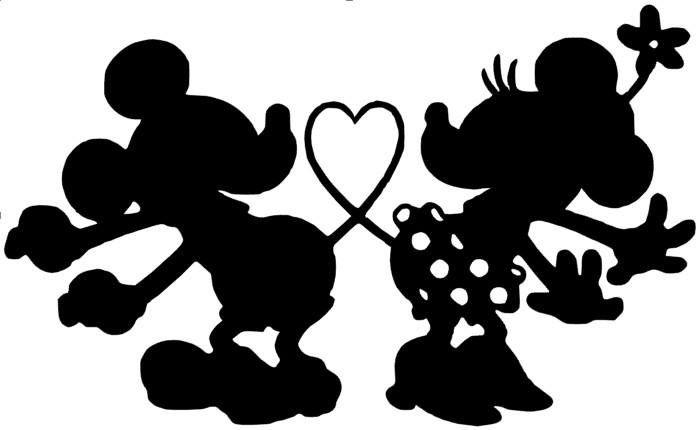 Download Minnie Head Vinyl Download Silhouette   Joy Studio Design ...