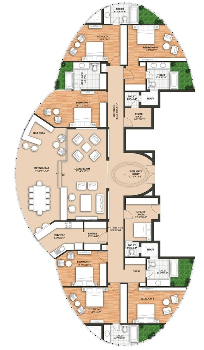 20 Best Ideas About 6 Bedroom House Plans On Pinterest Blueprints Home And Layout