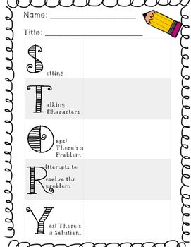 1000+ ideas about Story Elements Chart on Pinterest