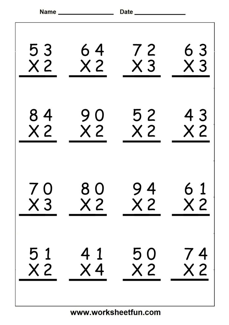 75 INFO SAMPLE WORKSHEET ON MULTIPLICATION DOWNLOAD DOC