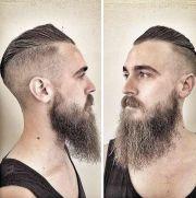 ideas viking haircut