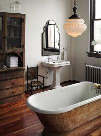 176 best images about Farmhouse Bathroom on Pinterest ...