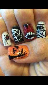 Best 25+ Halloween acrylic nails ideas only on Pinterest ...