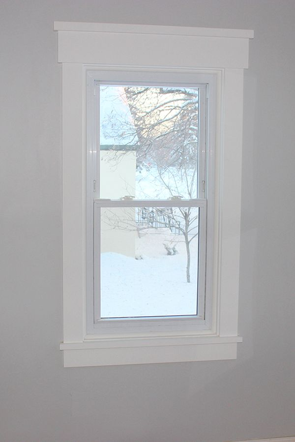 diy craftsman style window trim i did not know that this was enough of a