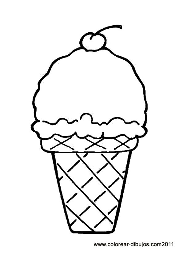 1000+ ideas about Ice Cream Coloring Pages on Pinterest