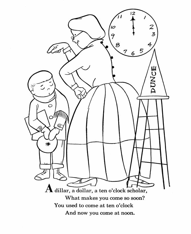 48 best images about nursery rhymes for preschoolers on