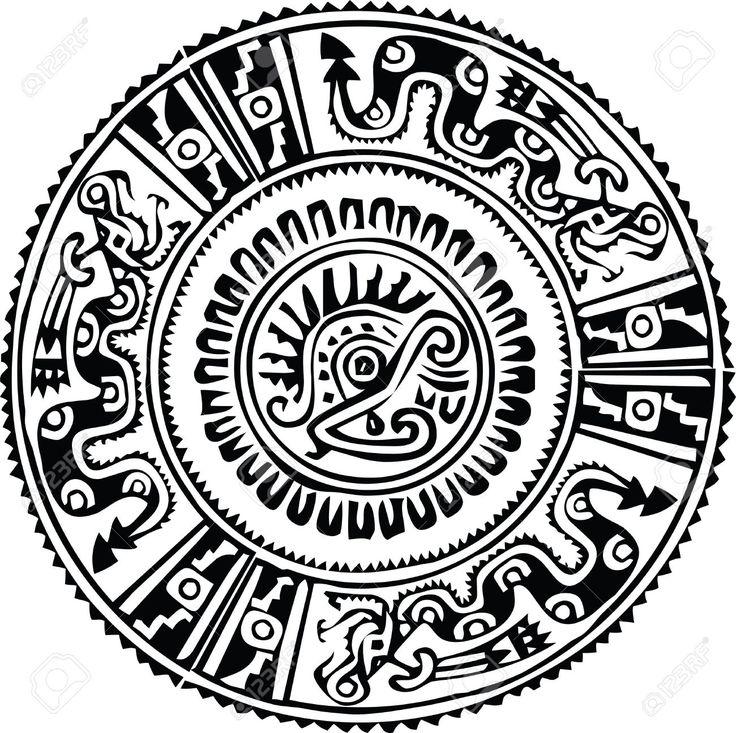 10892415-Ancient-pattern-Vector-illustration-Stock-Vector