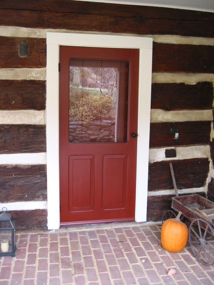 Traditional Screen  Storm Door  Willowbrook Model  www