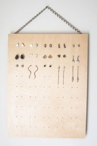 25+ best ideas about Stud Earring Organizer on Pinterest ...