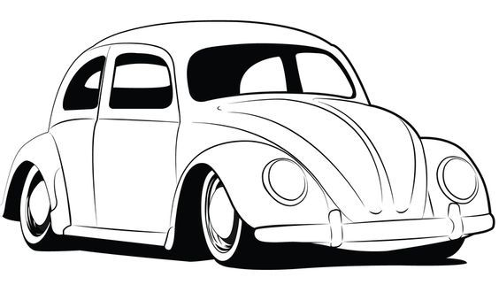 622 best VW Beetle Drawings images on Pinterest