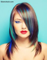 15 - peacock hair color