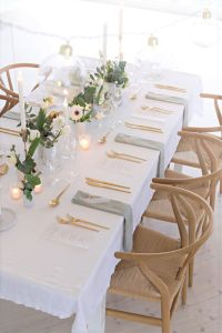 Wedding table setting | Simple, Sweet and Wedding