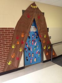 This is the door I did for our door decoration contest in ...