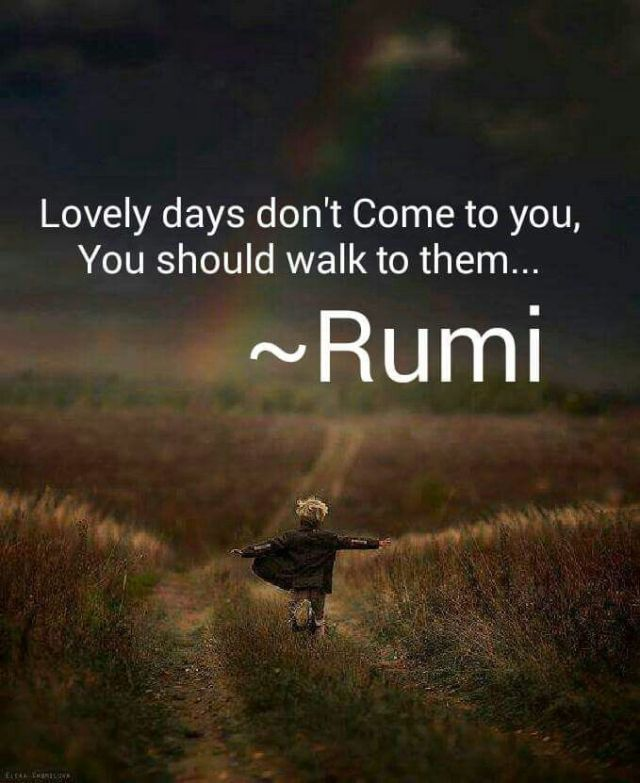 Rumi Quotes About A Day