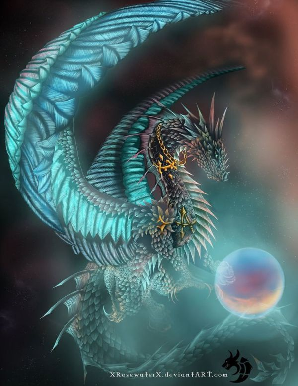 Turquoise Tigers and Dragons Pinterest Turquoise