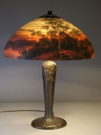 39 best images about reverse painted lamps on Pinterest ...