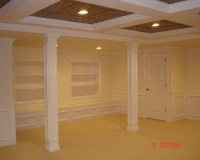 Traditional Basement Low Ceiling Basements Design ...