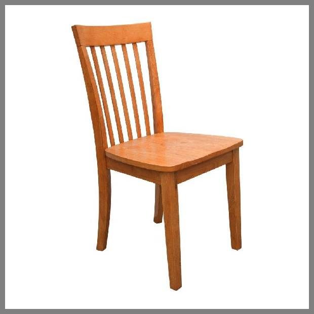 Solid Wood Dining Chair  Maple dining chairs example