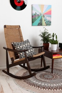 Woven Rocker Chair | Urban outfitters, The floor and Rockers