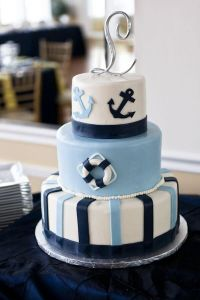 20+ best ideas about Nautical Baby Shower Cakes on ...