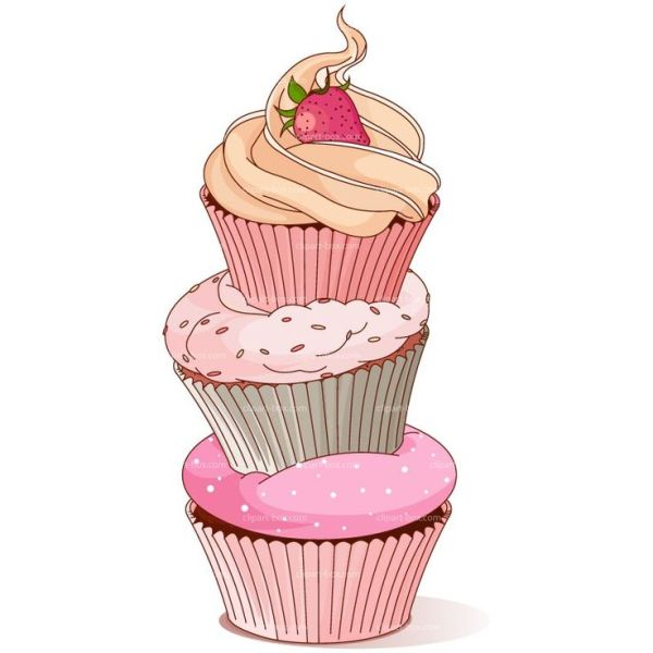 clipart cupcake tower royalty free