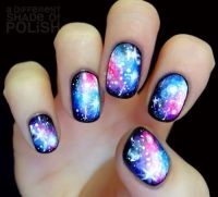 Diy Galaxy Nails | www.pixshark.com - Images Galleries ...