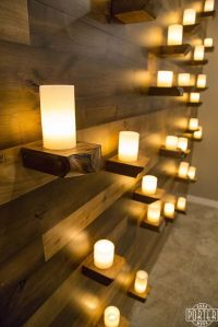 1000+ ideas about Candle Wall Decor on Pinterest | Hallway ...