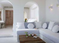 Naxos Greece . Villa Marandi . Living Room Interior ...