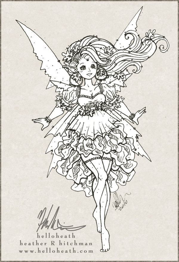 1000+ images about Fairy coloring sheets on Pinterest