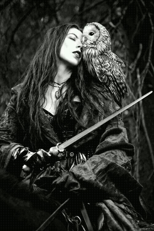 girl power tattoo quotes electric fence circuit diagram diy goth fantasy art, woman, female, girl, owl, cuddling, kiss, dreamy, gloomy, amazing. | ...