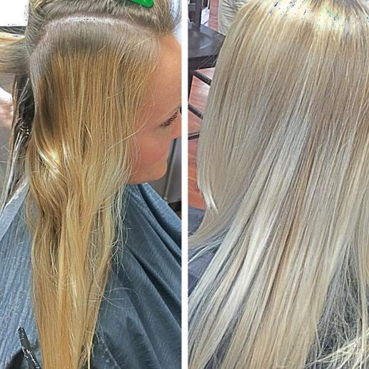 Pure Enlightenment Balayage Lightener Express Toners In
