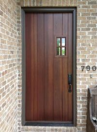 25+ best ideas about Craftsman front doors on Pinterest