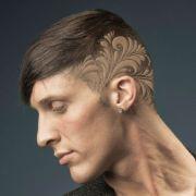 hair tattoo design men