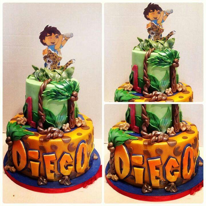 Go Diego Go Cake My Creations Dalizious Cake
