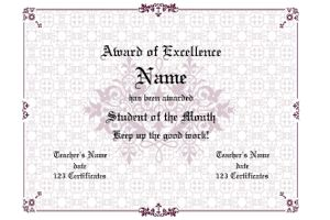 1000+ ideas about Award Certificates on Pinterest