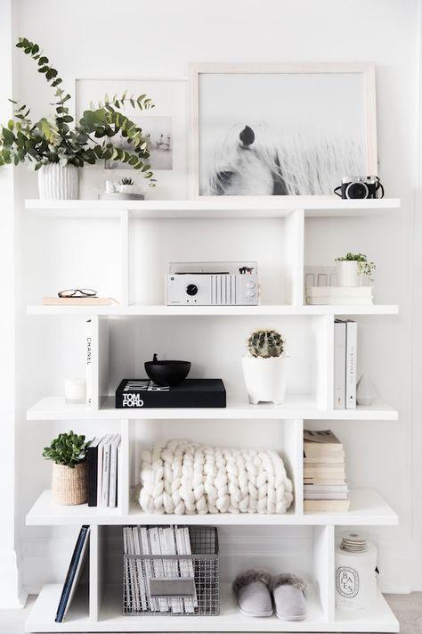 Best 25+ White shelves ideas on Pinterest
