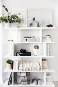 Best 25+ White shelves ideas on Pinterest