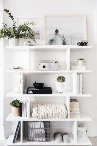 Best 25+ White shelves ideas on Pinterest | Bedroom inspo ...