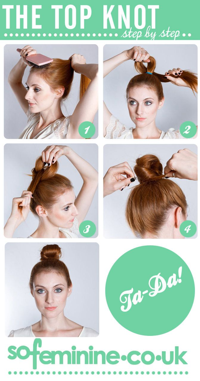25 Best Ideas About Topknot Tutorial On Pinterest Easy Hair