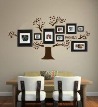 Family Tree Wall Decal vinyl words art photo gallery ...