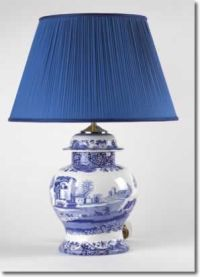 81 best images about Blue & White: Lamps & Shades on