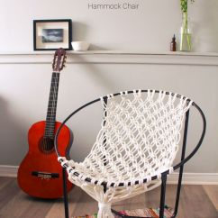 Table And Chairs With Bench Baby Bouncer 6 Months Plus Why Macrame A Plant Holder When You Can Hammock Chair? | Diy Pinterest Plants ...