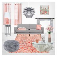 17 Best ideas about Peach Living Rooms on Pinterest   Chic ...
