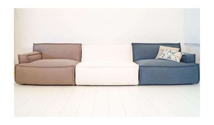 hay mags soft sofa bank sure fit matelasse damask cover t cushion canvas studios lemaster ecru/blauw | ideeën voor het ...