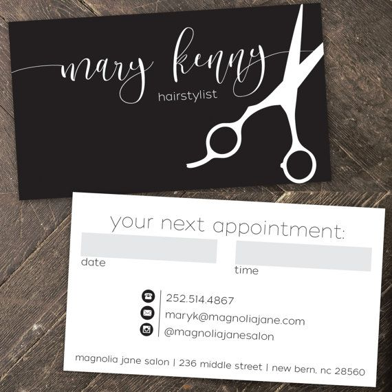 25 best ideas about Hairstylist Business Cards on Pinterest  Salon business cards Barbershop