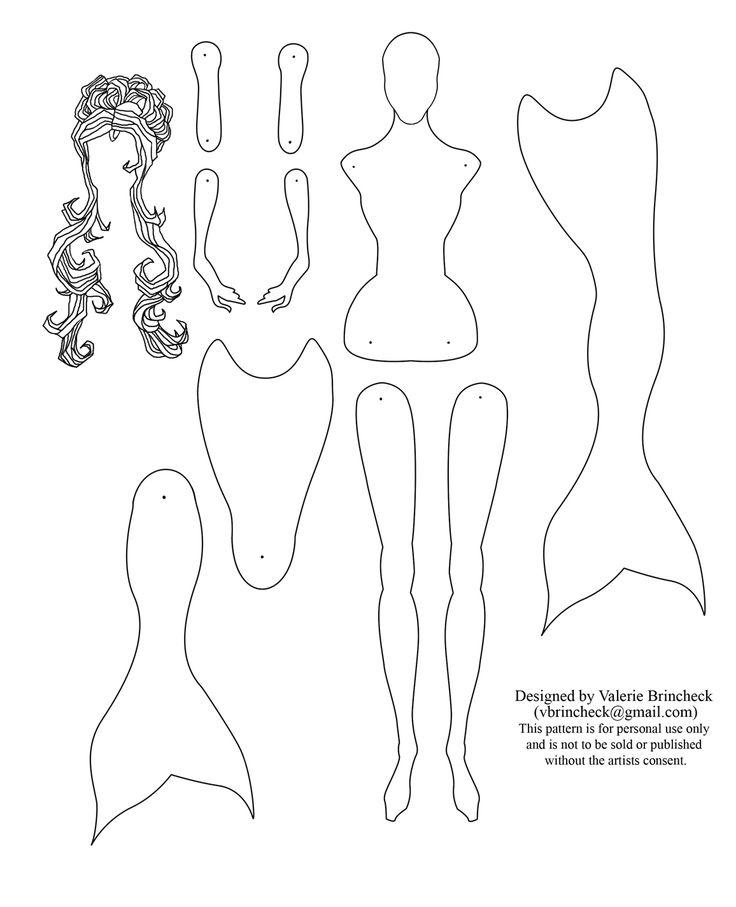 25+ best ideas about Mermaids Pattern on Pinterest